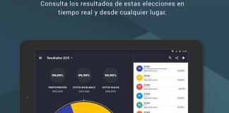 resultados de las elecciones de Cataluña 2015 también podrán consultarse desde cualquier parte del mundo a través de la aplicación móvil gratuita Elecciones27S