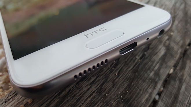 HTC One A9 huellas lector