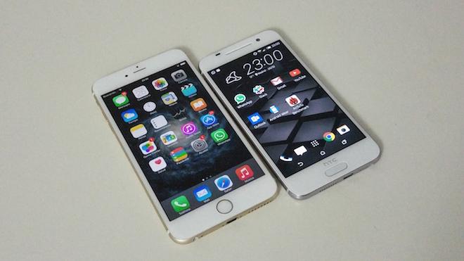 La línea de diseño de HTC ha evolucionado y ahora coquetea con la de Apple