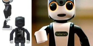 El smartphone robot se llama RoBoHon y verá luz en 2016 (+vídeo)