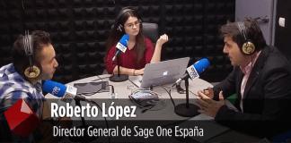 Sage One solucion de facturacion para autonomos entrevista a su director Roberto Lopez