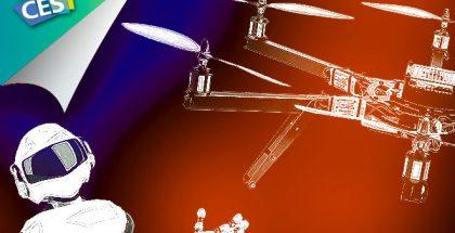 #CES2016: Drones y robots, la cara geek de la cita anual de Las Vegas