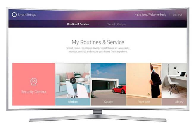 Toda la línea de televisores Samsung Smart TV 2016 estará preparada para el IoT y conectada con SmartThings