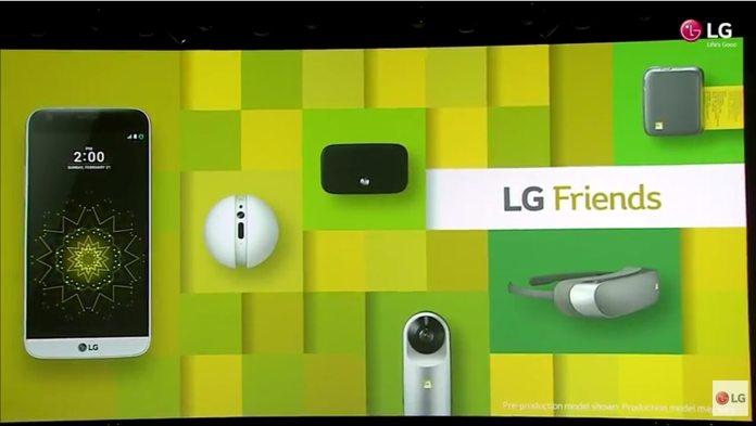 LG G5 y los nuevos LG Friends
