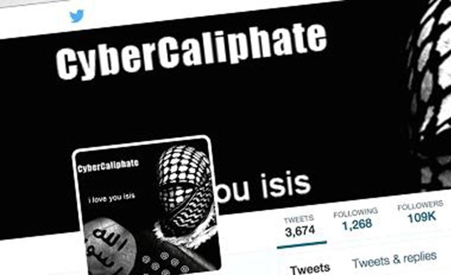 Cuenta de twitter de Isis