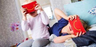 Gafas de realidad virtual de McDonald's