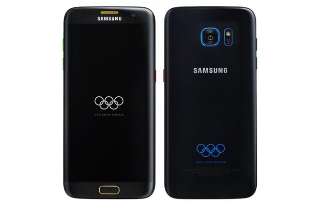 Edición olímpica del Samsung Galaxy S7 Edge