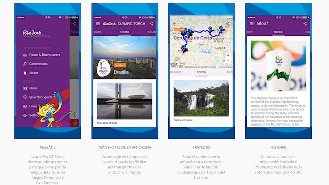 aplicacion movil juegos olimpicos rio 2016 jjoo descargar