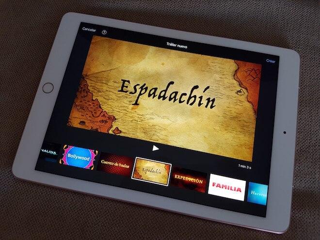 El iPad Pro permite editar vídeos sin mayor problema