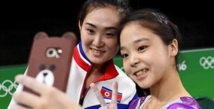 Atletas norcoreanos