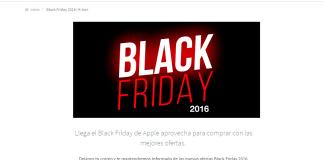Mejores ofertas de Black Friday en Apple