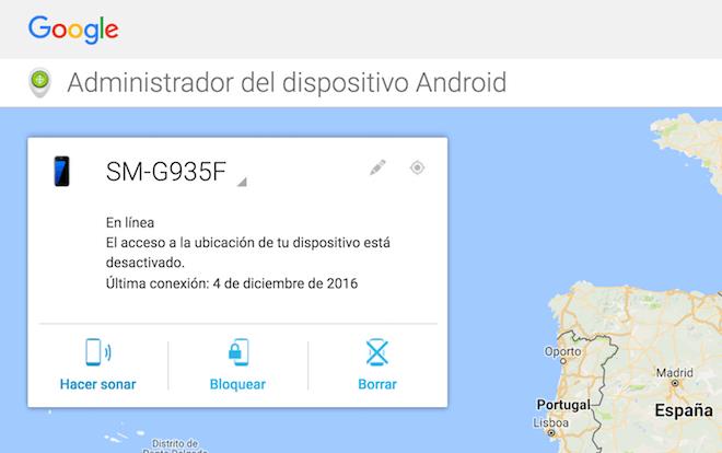 administrador-de-android-acciones