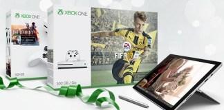 Comprar Surface Pro 4 y un Xbox One S