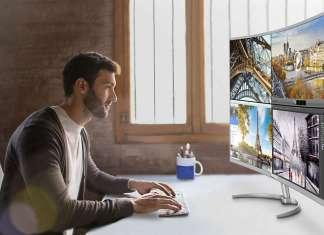 Monitor curvo 4k más grande del mercado