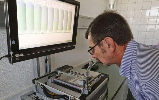 Dispositivo para diagnosticar cáncer a través del aliento