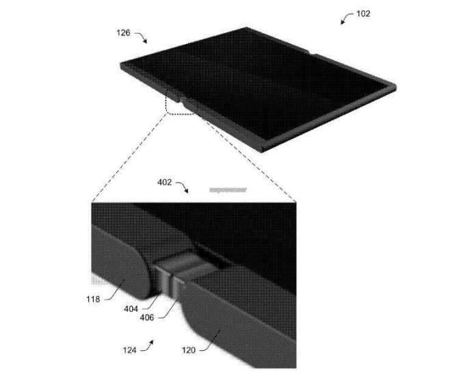 Patente del Móvil plegable de Microsoft