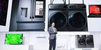 Samsung recibe premios en CES 2017