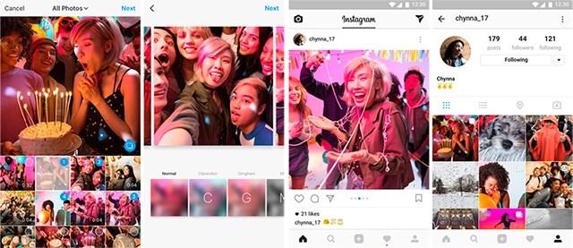 Cómo subir varias fotos y videos a Instagram a la vez