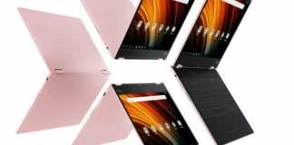 La Lenovo Yoga A 12 es una Tablet de la gama Yoga Book que también funciona como un ordenador portátil MÁS ECONÓMICA