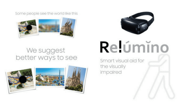 Relumino es una de que aplicaciones de realidad virtual y aumentada de Samsung ayudará a las personas con metamorfopsia