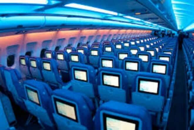 Para la historia quedarán las pantallas en los asientos de los aviones