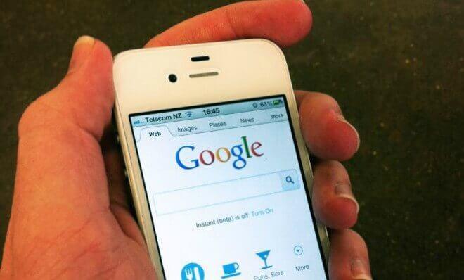 Google actualiza los motores de búsqueda en tu móvil