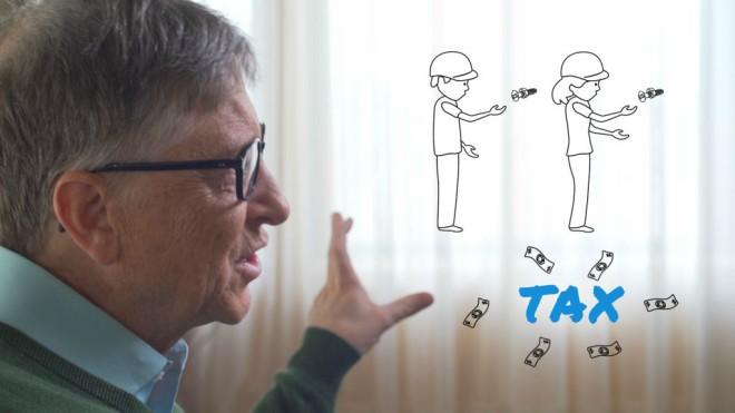 Bill Gates propone que los robots paguen impuestos