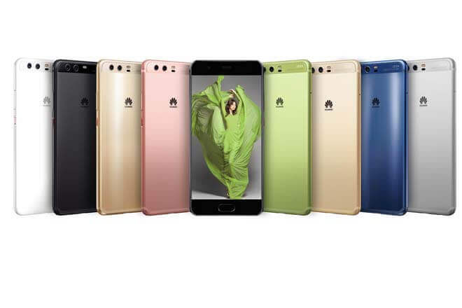 Colores del Huawei P10