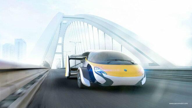 El coche volador de Aeromobil pretende ser un transporte personal más eficiente y respetuoso con el medio ambiente