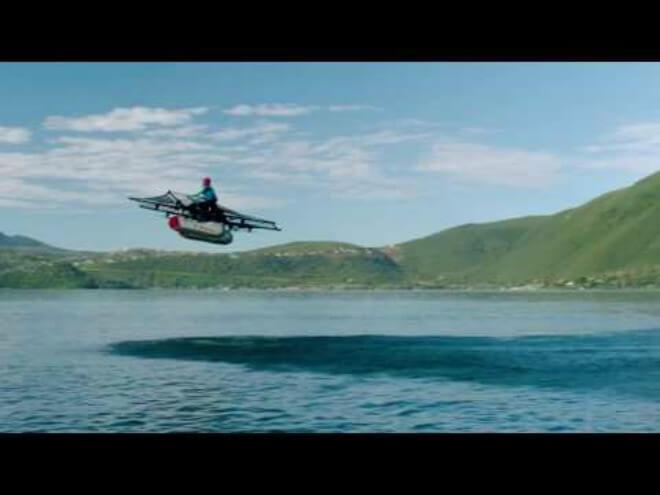 Presentan coche volador financiado por el fundador de Google