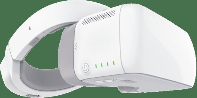 DJI presenta gafas de VR para controlar drones