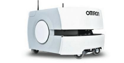robot que transporta equipaje es usado para ayudar a pasajeros