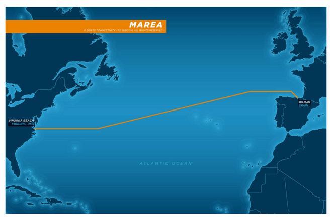 Un cable submarino permitirá conectar a Estados Unidos y España