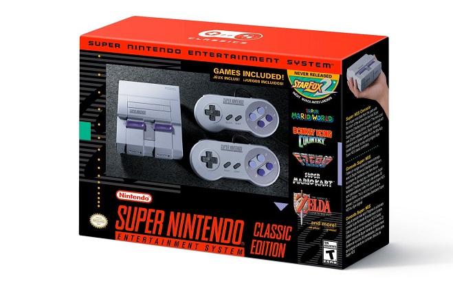 Nintendo venderá la SNES Mini a finales de 2017