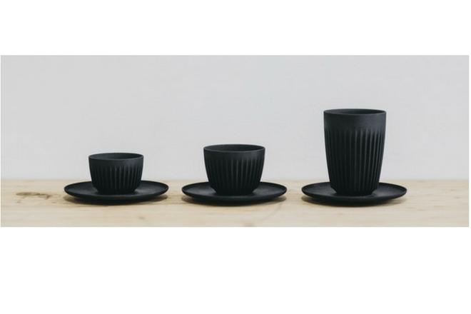 taza ecológica para tomar café