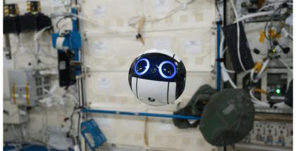 robot cámara o Int Ball
