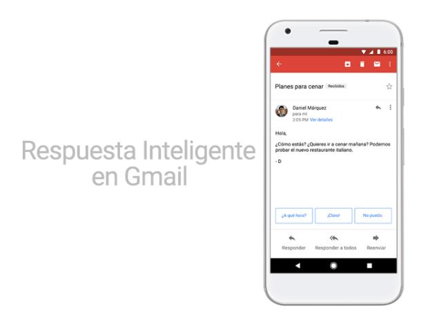 Smart Reply de Google