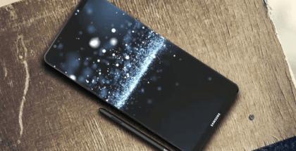 Pantalla del Galaxy Note8