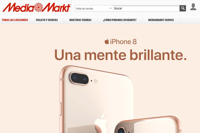 iPhone 8 en MediaMarkt