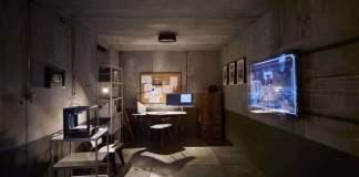 The e-tron room