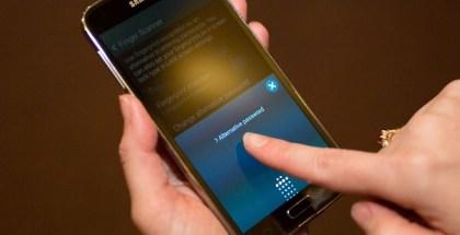 sensor de huella en pantalla