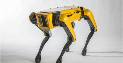 Así es Spotmini, el robot perro mascota