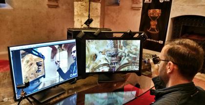 HP recrea un modelo 3D del Santo Grial y acerca al público una de las joyas más importantes de la historia