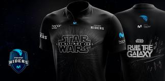 Movistar Riders vestirá una camiseta especial de Star Wars: Los últimos Jedi
