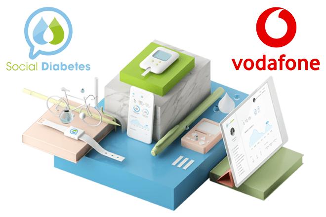 SocialDiabetes y Vodafone se unen para impulsar la gestión digital de la diabetes