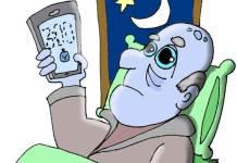 dormir con el móvil encendido