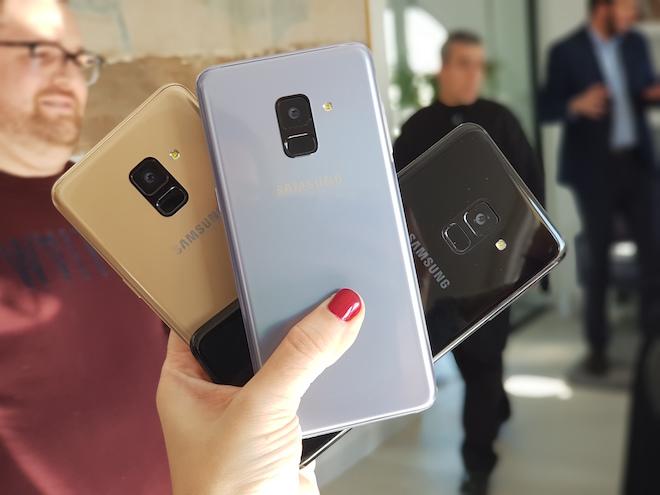 El Samsung Galaxy A8 (2018) llega a España y aquí te mostramos sus puntos fuertes