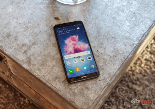 Cara principal del Huawei P smart