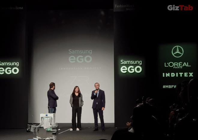 La impresión 3D se sube a la pasarela con Samsung EGO Innovation Project