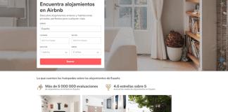 Airbnb plataforma de alquiler de pisos entre particulares